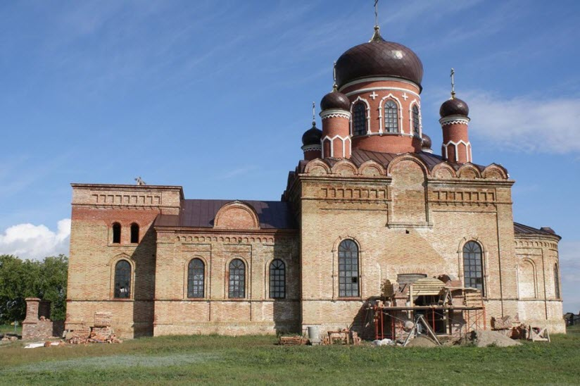 Церковь святителя Николая Чудотворца в селе Поповка