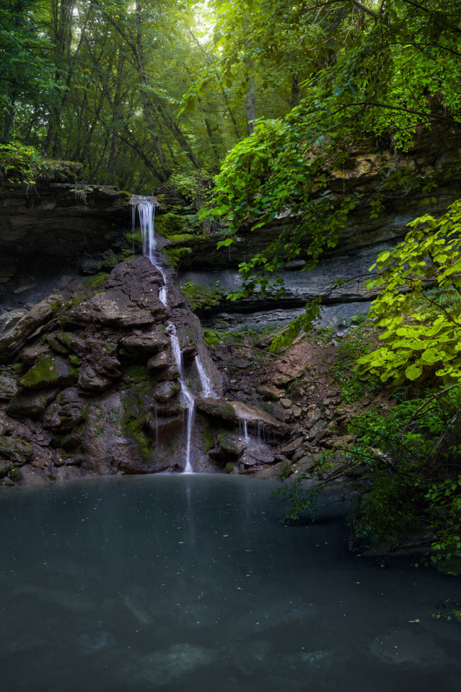 Водопад Большой Хаджох