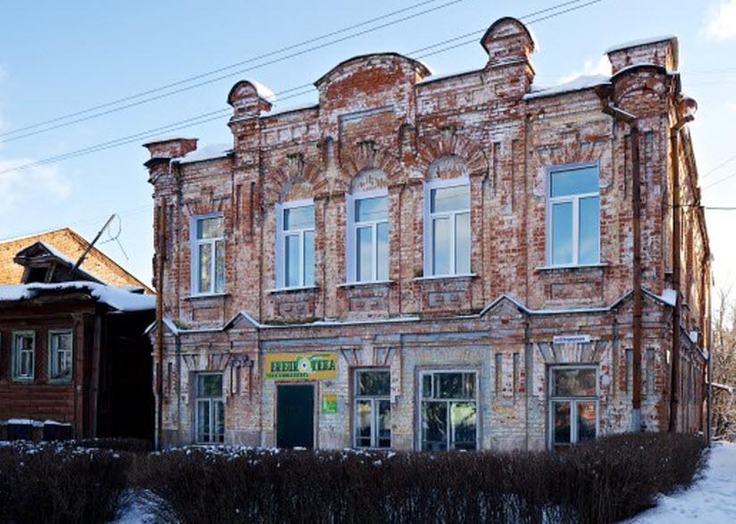 Здание бывшего ресторана купчихи Бессоновой