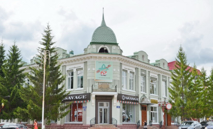 Доходный дом купца Ш.Л. Хакимова
