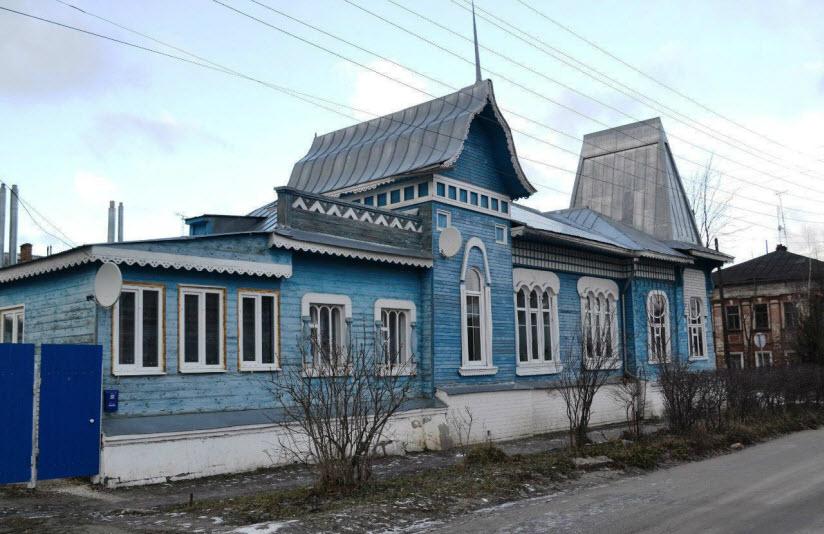 Дом, в котором родился В. Кубасов