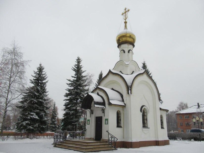 Храм Новомучеников и исповедников Ступинских