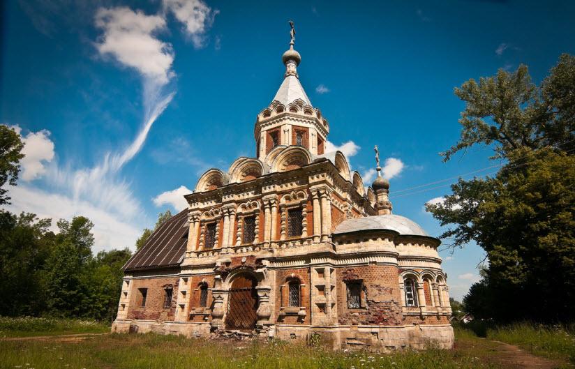 Храм св. мчц. Александры
