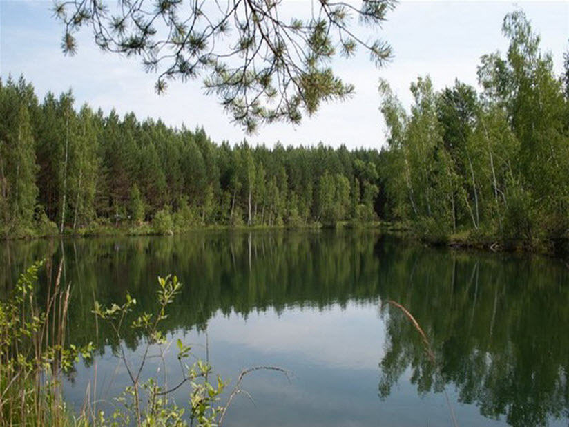 Озеро Жупень