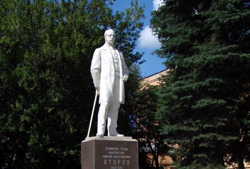 Памятник Николаю Второву