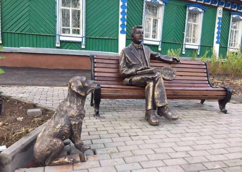 Памятник Ярославу Гашеку