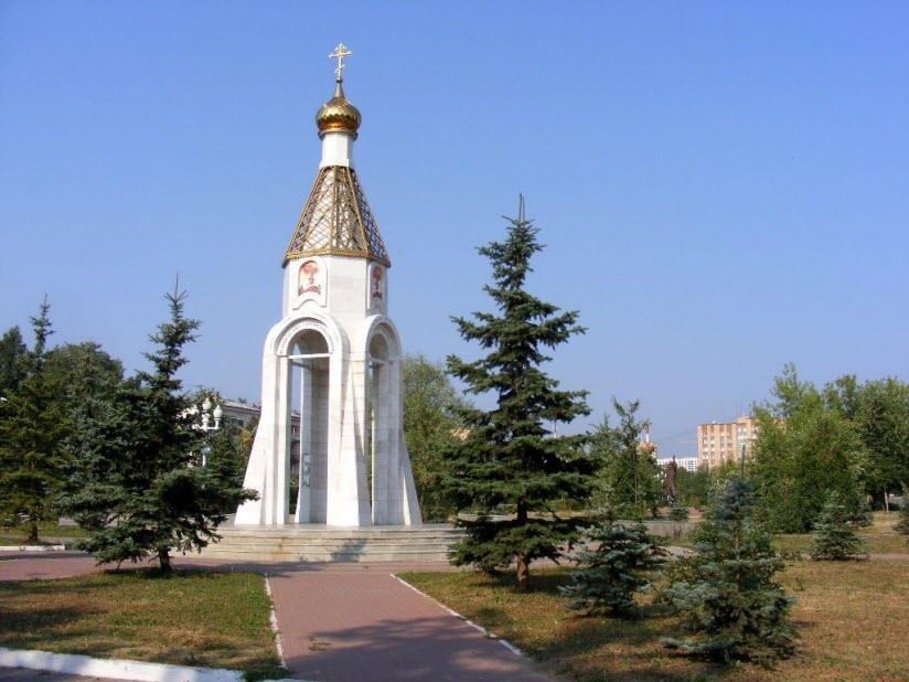 Парк воинской памяти