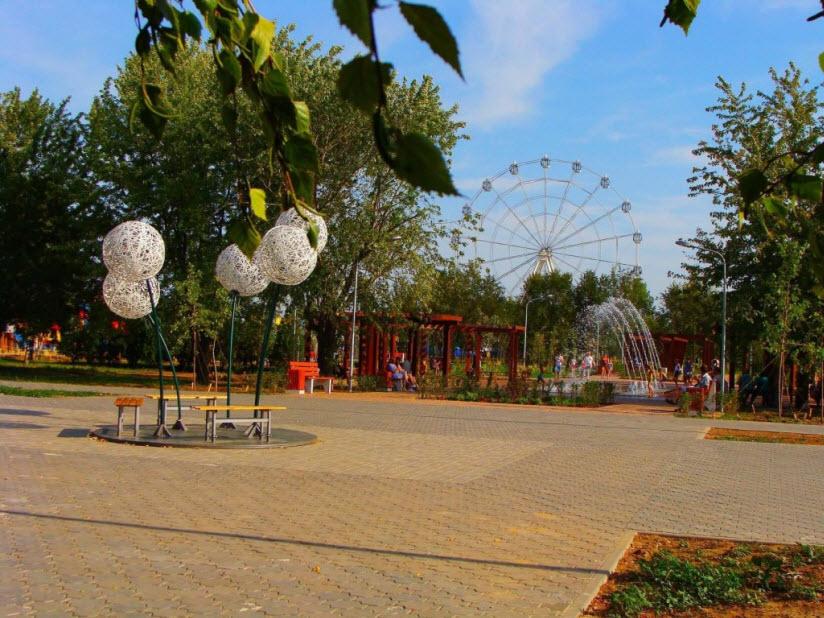 Парк «Волжский»