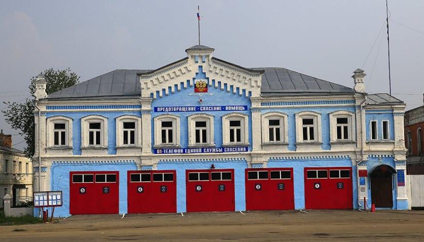 Здание пожарного депо