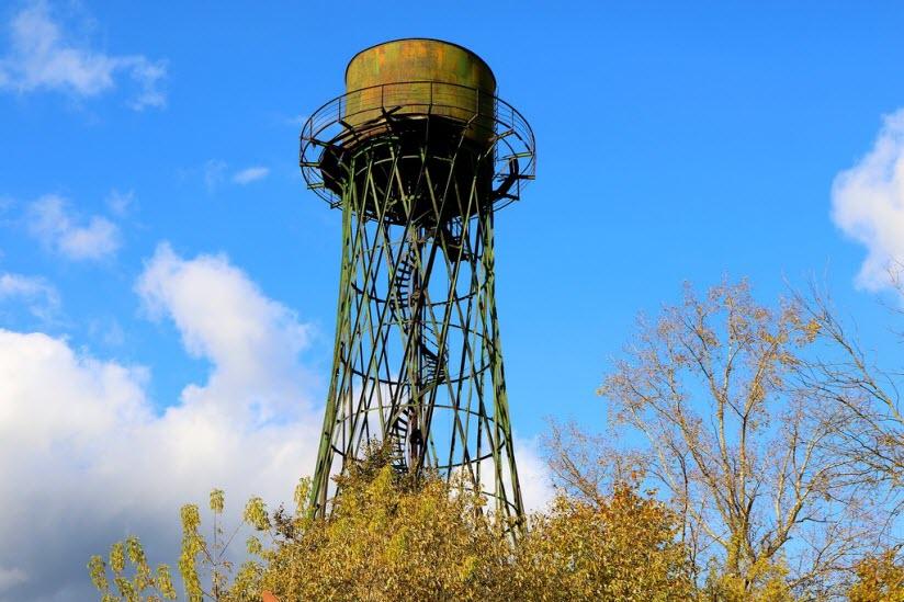 Гиперболоидная водонапорная башня Шухова