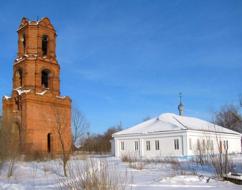 Казанский храм в с. Бусаево