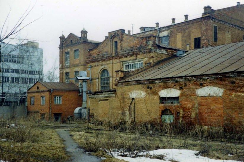 Корпуса фабрики Крестовниковых