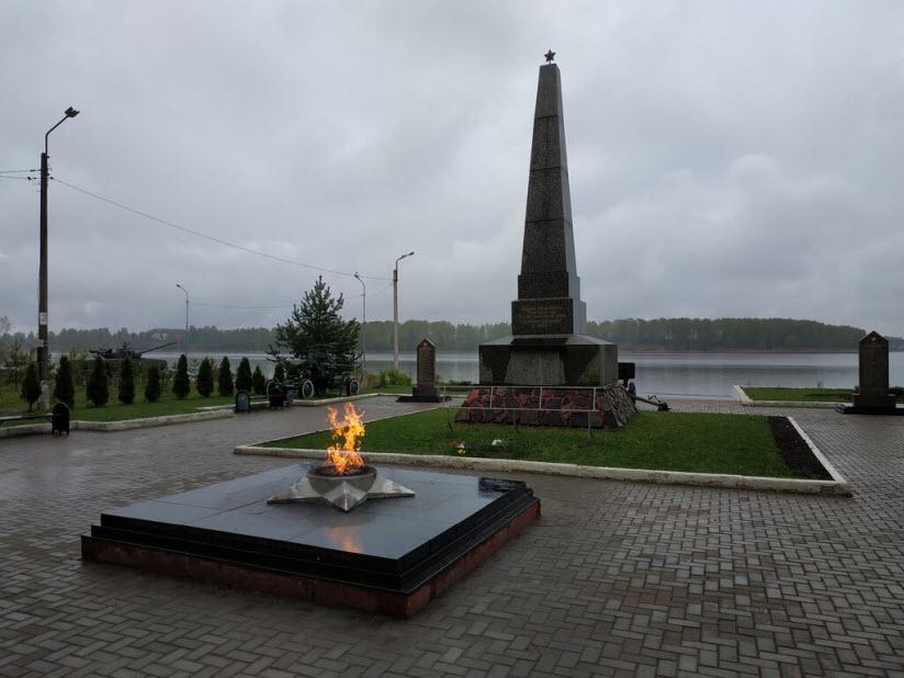 Обелиск в память жителей Бологое, погибших в годы ВОВ