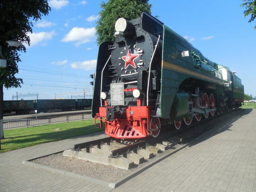 Памятник паровозу П36-0111