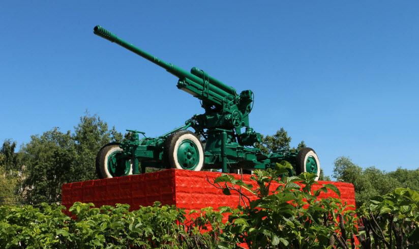Памятник «Зенитное орудие»