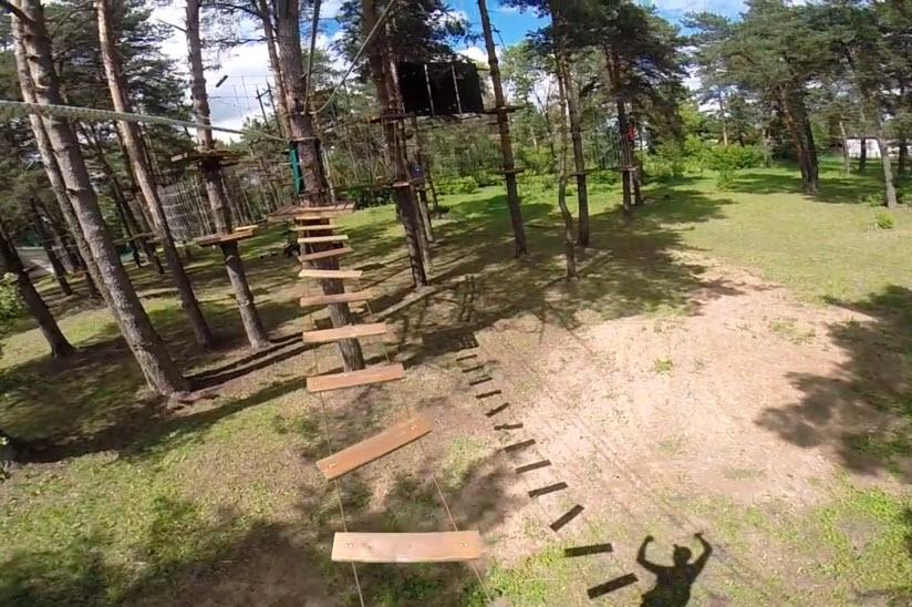 Верёвочный парк «Форт Боярд»