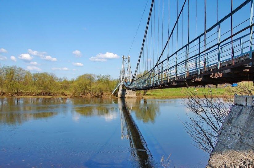 Висячий мост через Чусовую