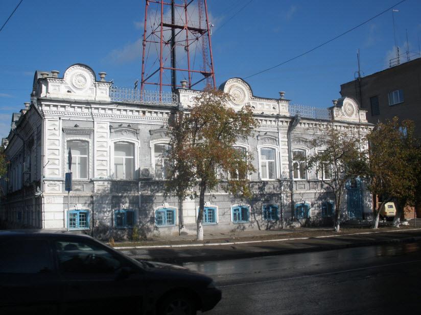 Здание бывшей Городской Управы