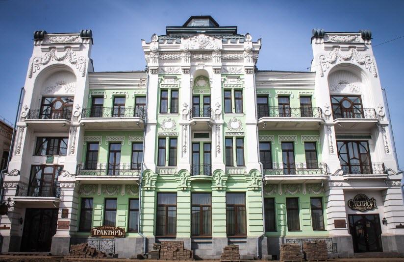 Здание гостиницы Г.А. Башкирова