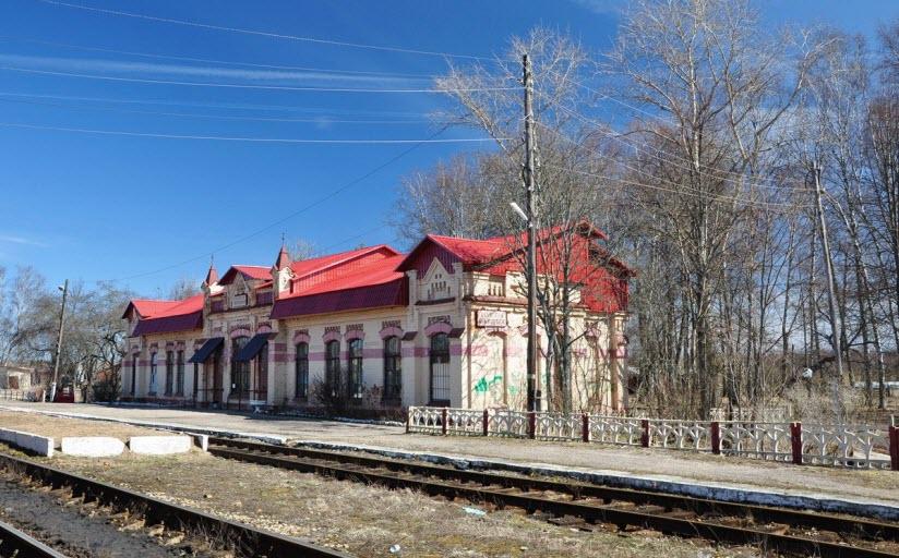 Жилой дом служащих на станции Бологое-Полоцкое
