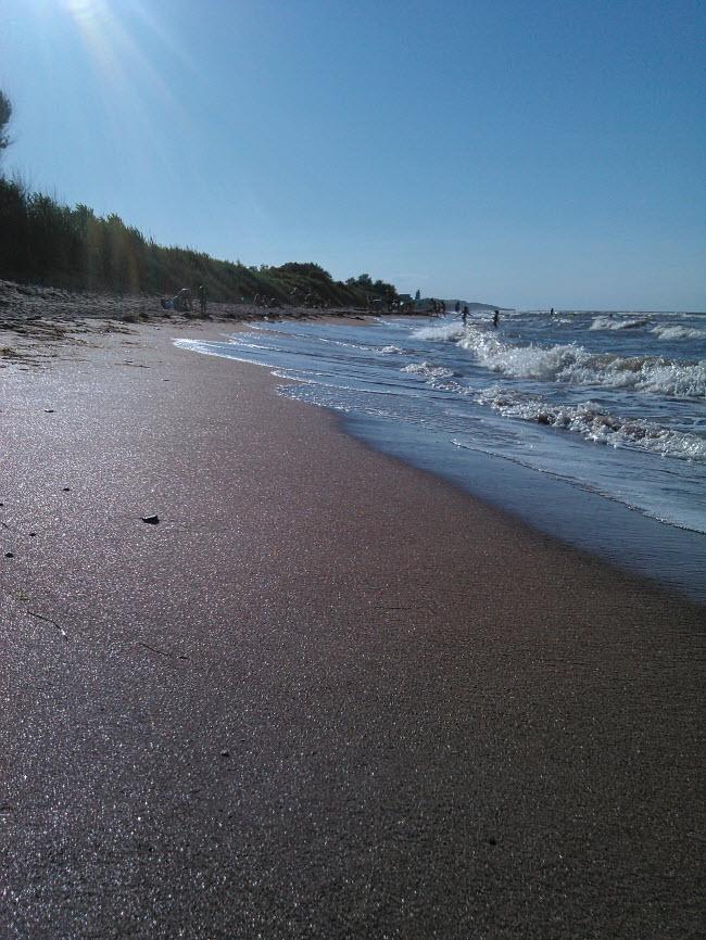 Пляж кемпинга «Печора»