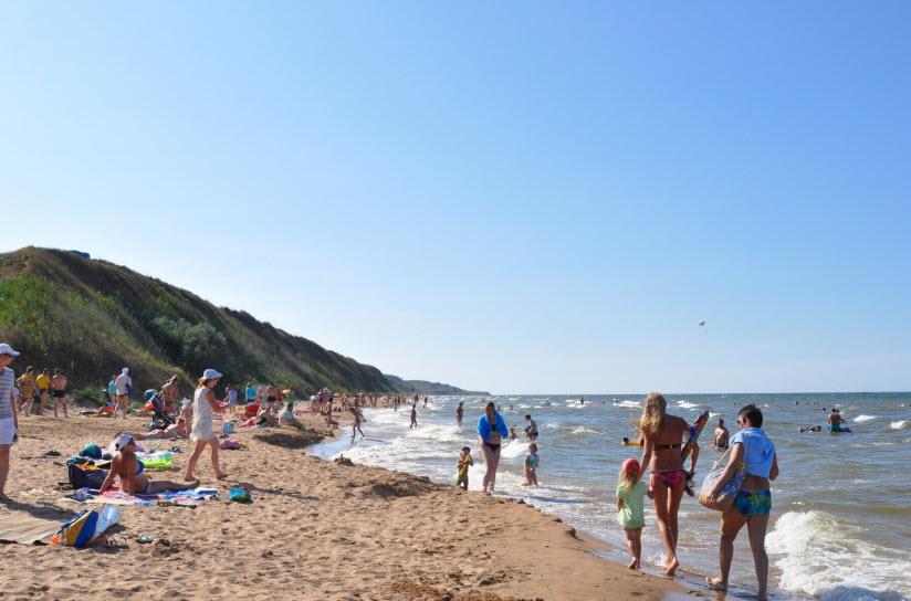 Центральный пляж «Песчаная россыпь»
