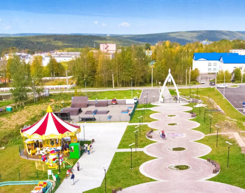 Городской парк отдыха им. Гагарина