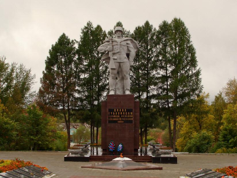 Памятник войнам-губахинцам, защитникам Родины