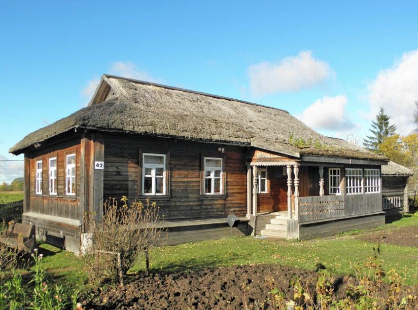 Дом-музей Гагариных в Клушино