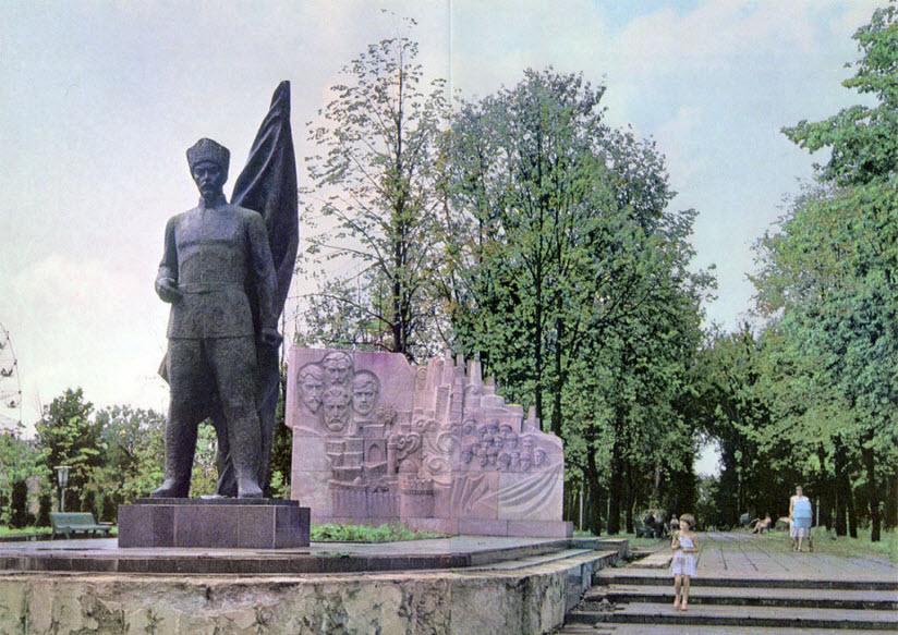 Памятник Ф.Ф. Солнцеву
