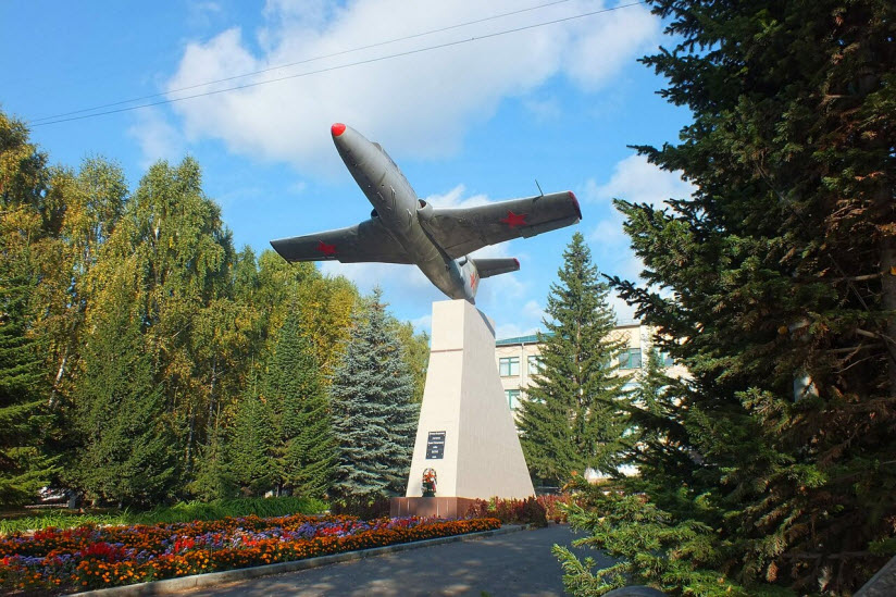 Памятник летчикам-белоречанам