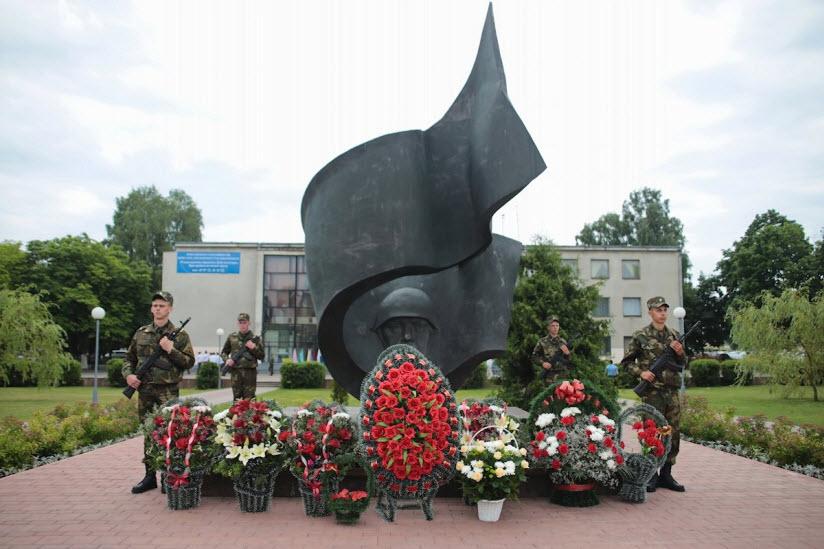 Памятник освободителям Барановичей