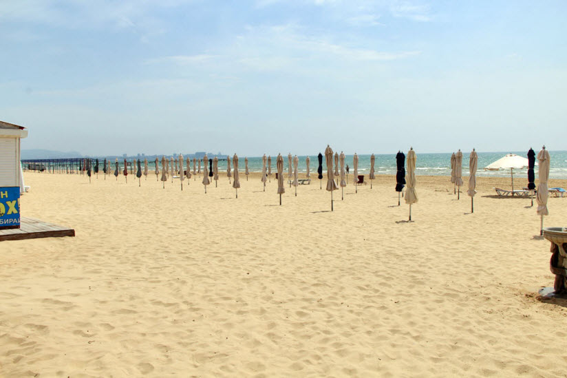 Пляж пансионата «Фея-1»