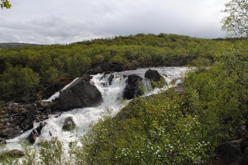 Водопад Мельничный каскад