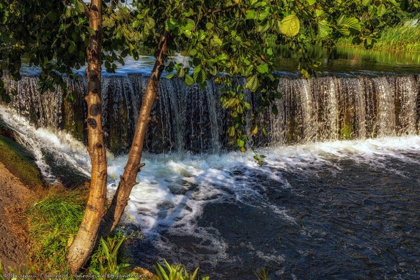 Водопад на Савале