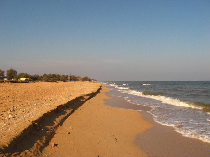 Дикие пляжи Голубицкой
