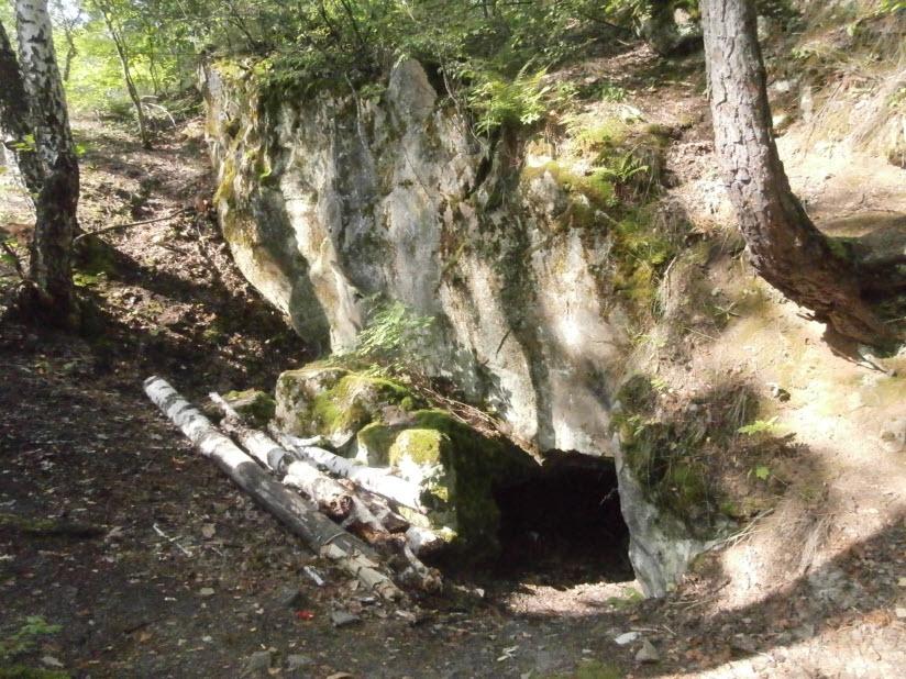 Красногуляевские пещеры