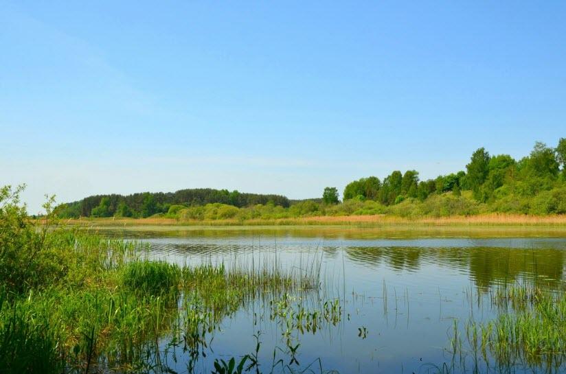 Озеро Каспля