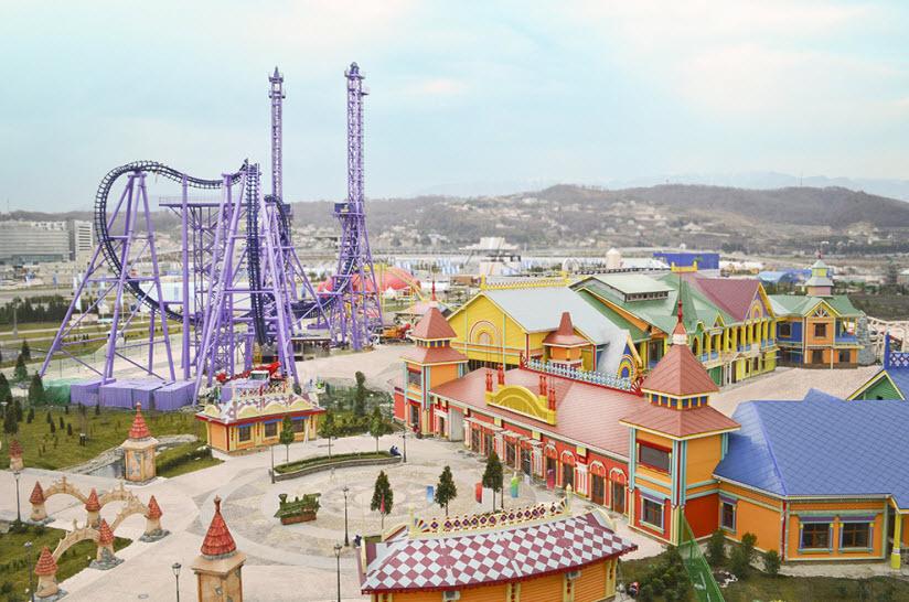 Парк развлечений «Сочи-парк»