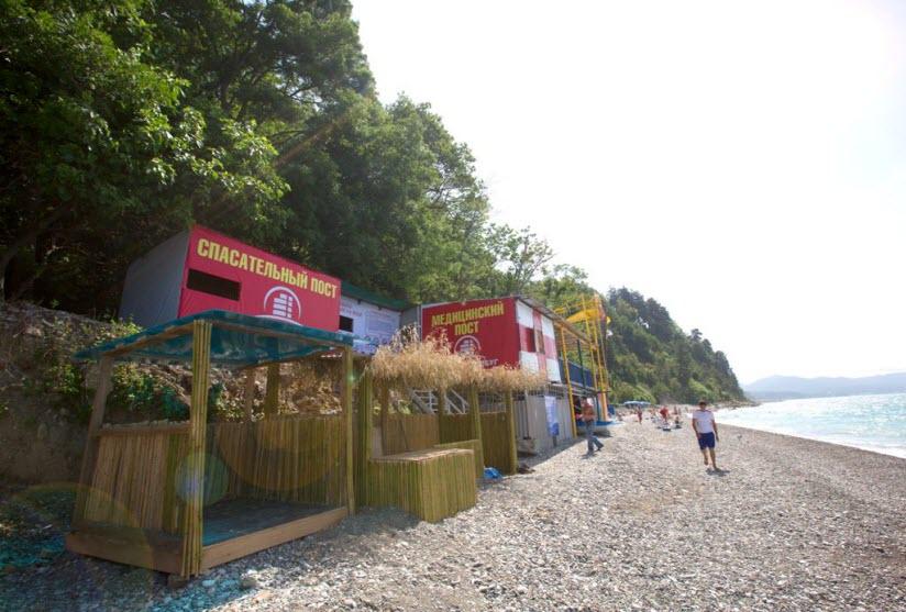 Пляж-парк отеля «Небуг»