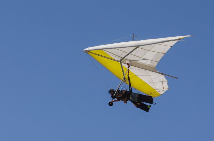 Полёты на дельтапланах