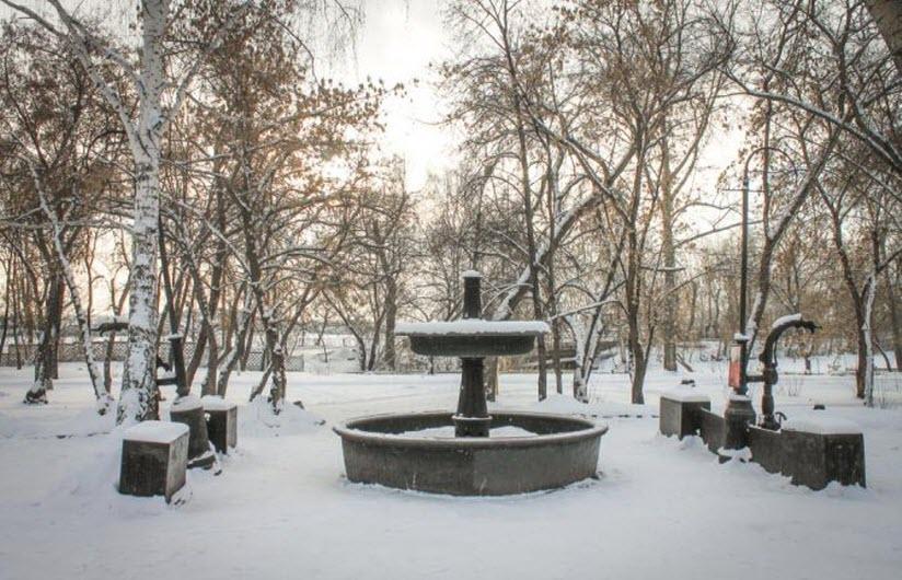Старинный фонтан «Кыштымское чудо»