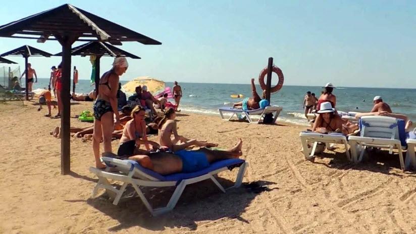 Центральный пляж «Морской бриз»