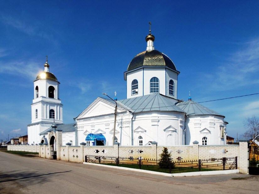 Церковь Богоявления Господня в Старой Майне