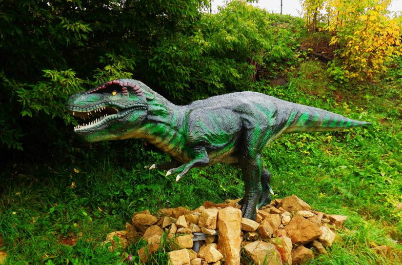 Динопарк Динозавры на Вятке