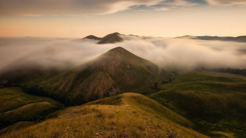 Нагайские и Долгие горы