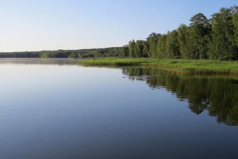 Озеро Малый Тараскуль
