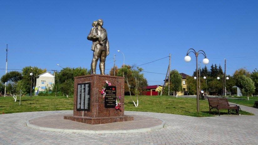 Памятник «Воинам-лесозаводцам, погибшим в годы войны»