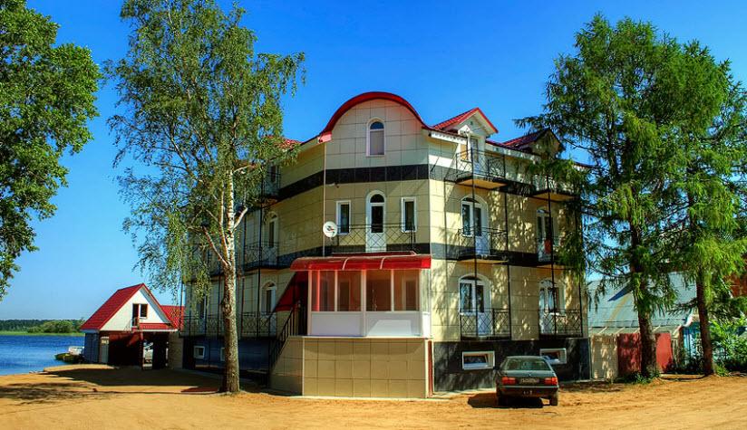 Пляж гостиницы «Орловская»