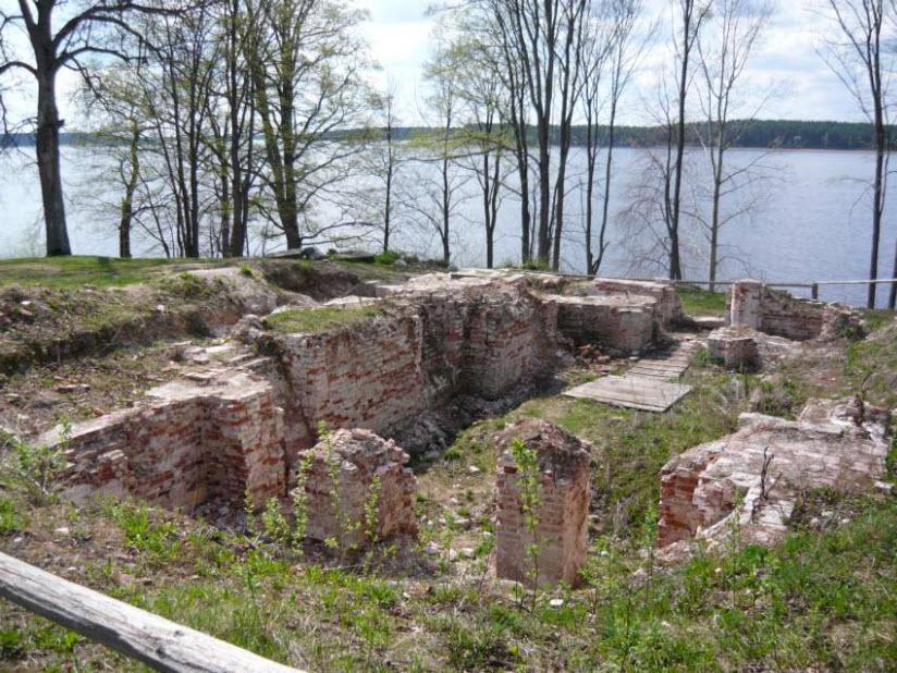Руины церкви Иоанна Предтечи